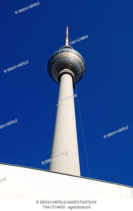 TV tower at Alexanderplatz in Berlin
