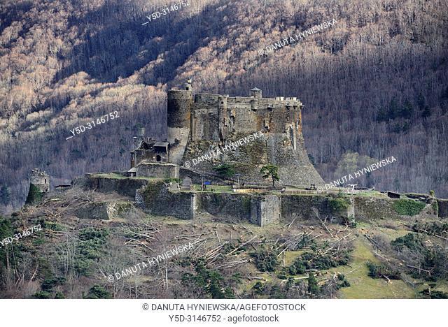 Château de Murol, Route Historique des Châteaux d'Auvergne, Parc Naturel Regional des Volcans d'Auvergne - Auvergne Volcanoes Natural Regional Park, Murol