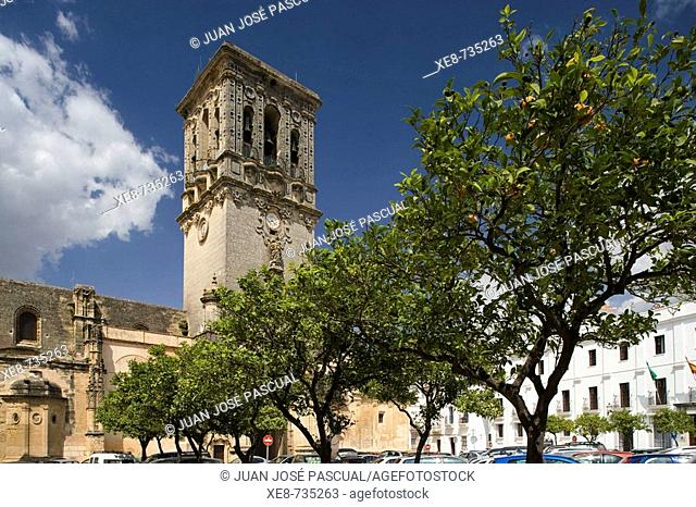 St. Mary's church, Arcos de la Frontera. Cadiz province, Andalucia, Spain