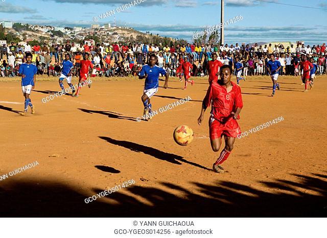 Football at Antananarivo, Madagascar