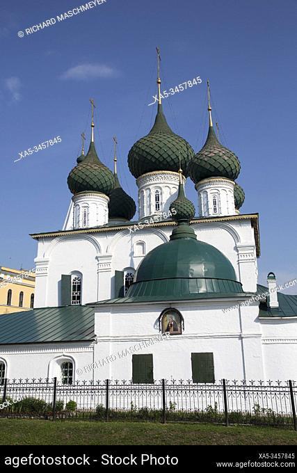 Saviour Church on the City, UNESCO Site, Yaroslavl, Golden Ring, Yaroslavl Oblast, Russia