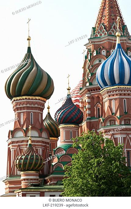Cathedral of Saint Basil the Blessed, St. Basils Cathedral, Red Square, Moscow, Russia