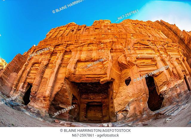Palace Tomb (the Royal Tombs), Petra Archaeological Park (a UNESCO World Heritage Site), Petra, Jordan