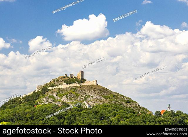 Staatz ruins, Mistelbach District, Lower Austria, Austria