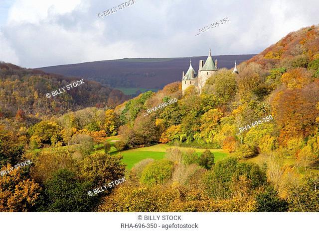 Castell Coch, Tongwynlais, Cardiff, South Wales, Wales, United Kingdom, Europe