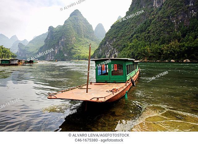 Yangdi, Li River, Guangxi, China