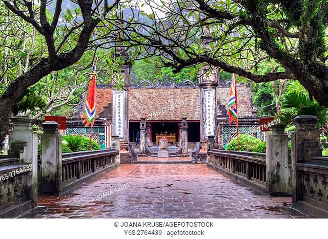 Dinh Tien Houng temple, Ninh Binh, Vietnam, Asia