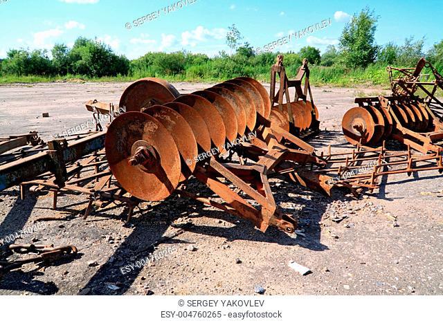 old agricultural mechanisms