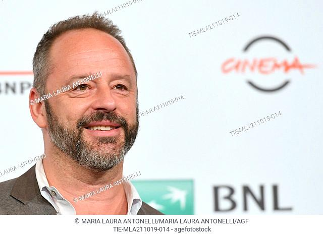 Gil Bellows poses during the photocall for 'Drowing' at the 14th annual Rome Film Festival, in Rome, ITALY-20-10-2019