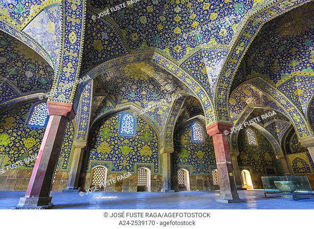 Iran, Esfahan City, Naqsh-e Jahan Square, Masjed-e Shah Mosque