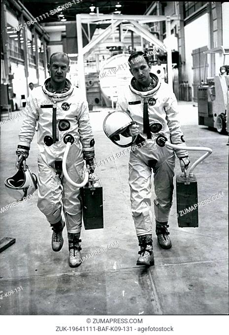 Nov. 11, 1964 - Life And Death - Of An Astronaut: American astronaut Ted Freeman spent two years reaching for the moon - but he died this week-end in a Texas...