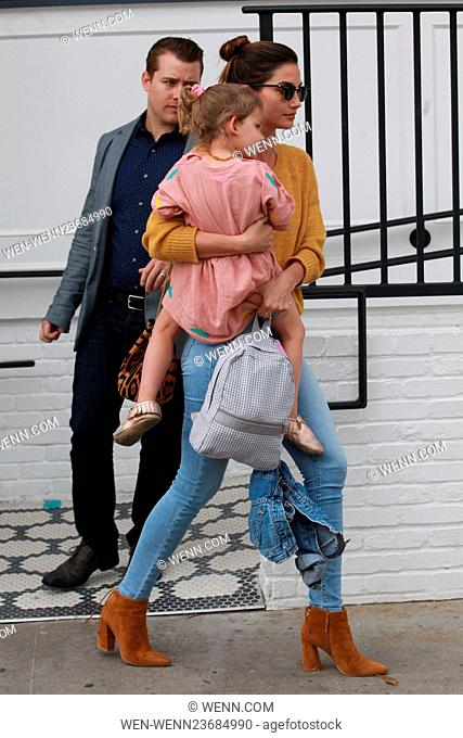 Lily Aldridge leaving Au Fudge, after lunch with model friend Alessandra Ambrosio Featuring: Lily Aldridge Where: Beverly Hills, California