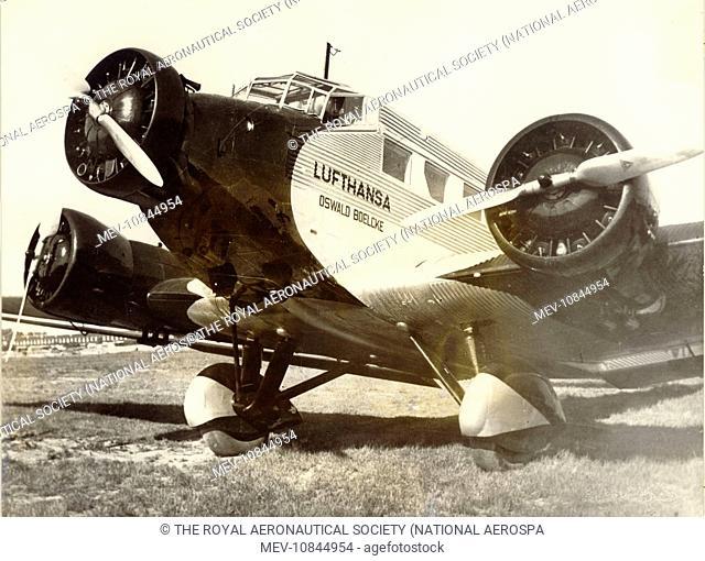 Junkers Ju52/3mge, D-AXOS, Oswald Boelcke, of Lufthansa