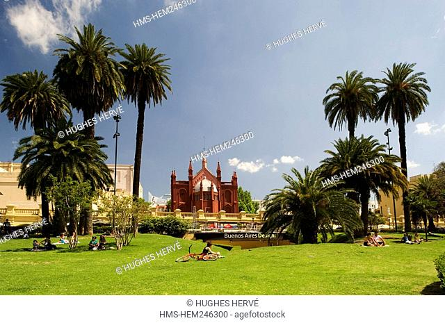 Argentina, Buenos Aires, La Recoleta Park