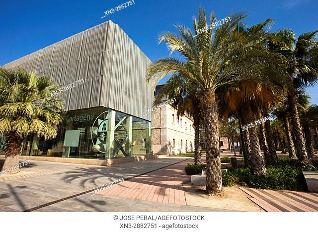 CIM Square, Plaza del CIM (UPCT), Cartagena City, Murcia Region, Spain