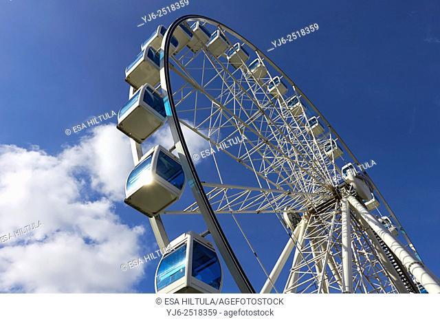 The Finnair Sky Wheel, Katajanokka Helsinki