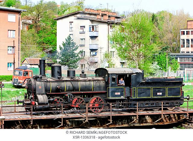 steam locomotive 126 014, Resavica, Serbia