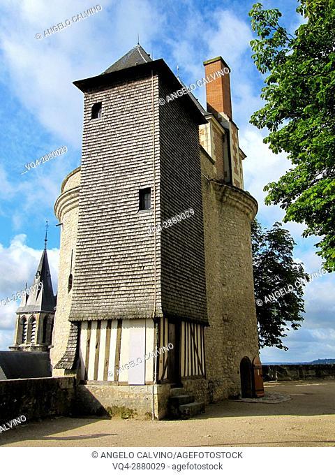 Blois, Castle, Chateau de Blois, Loire et Cher, Pays de la Loire, Loire Valley , UNESCO World Heritage Site, France.