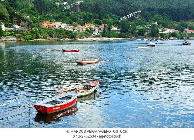 Ria de Ferrol. Galicia, Spain