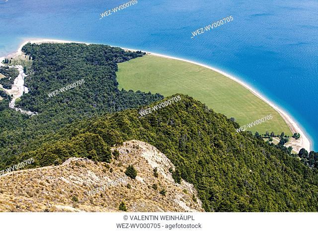 New Zealand, South Island, Queenstown-Lakes-Distrikt, Makarora, Wanaka, Makarora, Lake Hawea