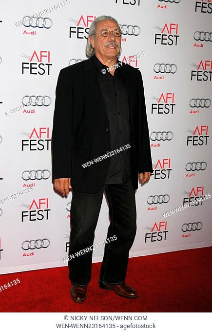 AFI FEST 2015 - 'The Big Short' - Closing Night Gala Premiere Featuring: Edward James Olmos Where: Los Angeles, California