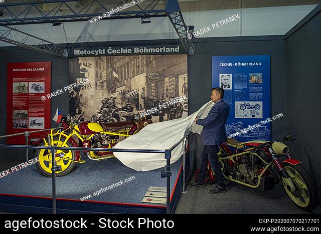 The Technical museum Liberec presents a new unique Cechie-Bohmerland motorcycles exhibition on Tuesday, July 4, 2020. (CTK Photo/Radek Petrasek)