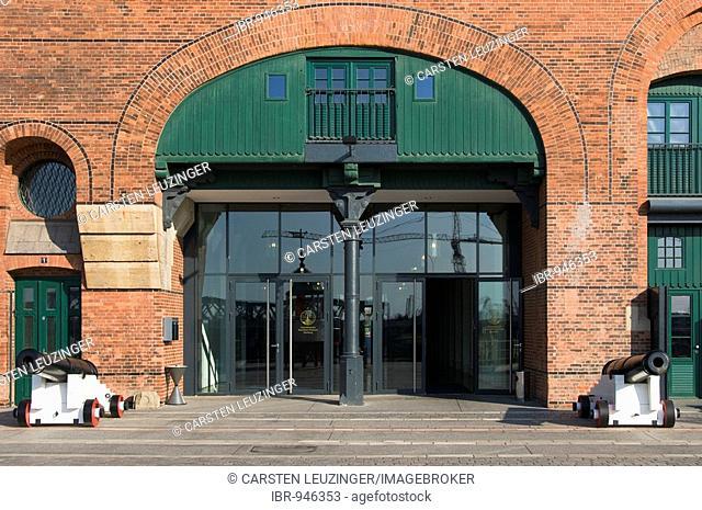International Maritime Museum, facade, HafenCity, warehouse district, Hamburg, Germany, Europe