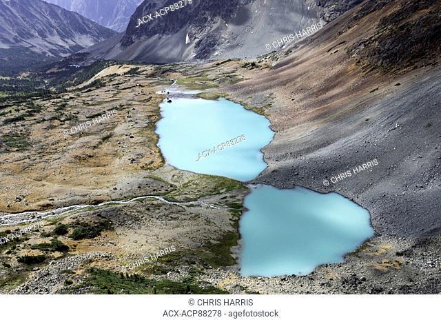 Canada, British Columbia, glacial alpine lakes, Niut Range, Coast Mountains, Chilcotin