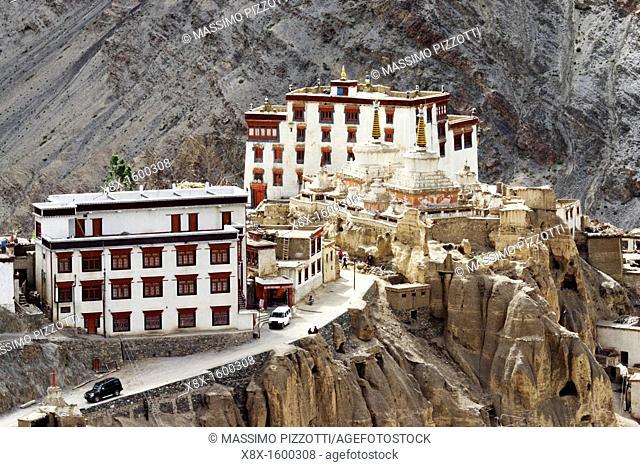 Lamayuru monastery in the Ladakh, India