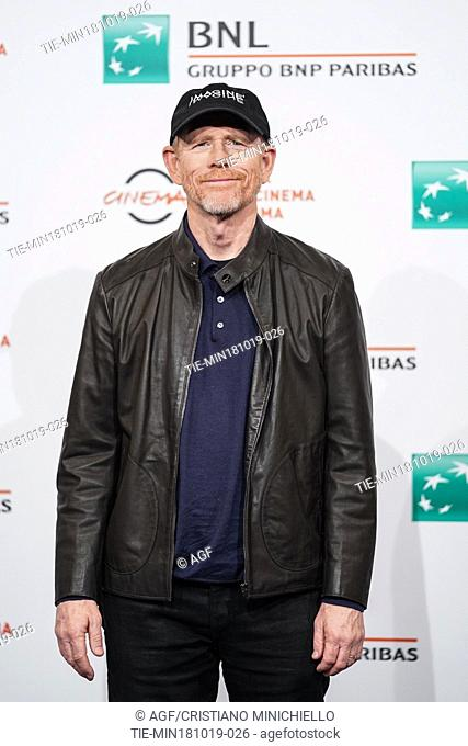 Ron Howard during 'Pavarotti' film premiere at 14th Rome Film Fest, Rome, Italy 18/10/2019