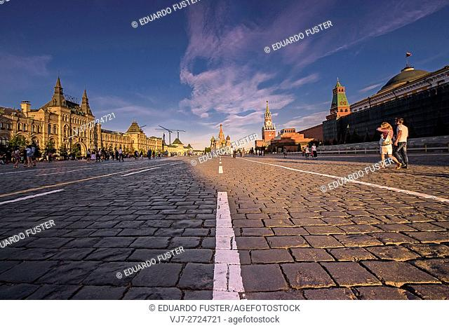 Red Square view (Moscow)