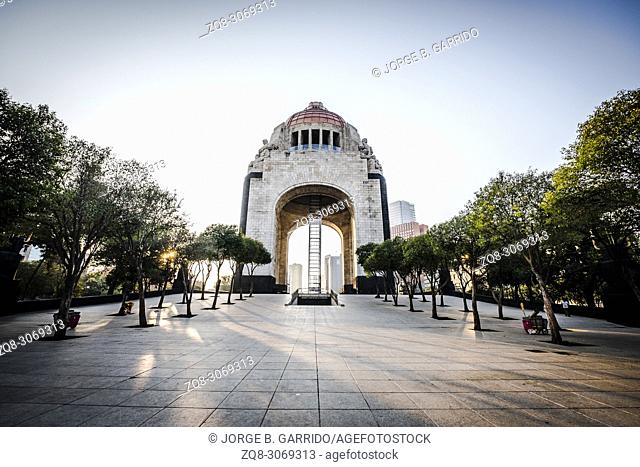 Revolution Monument at CDMX, Mexico City