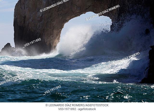 The Archs: Land's end, at Cabo San Lucas, Baja California Sur, Mexico