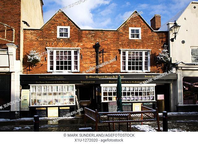 Ye Oldest Chymist Shoppe in England Knaresborough North Yorkshire England