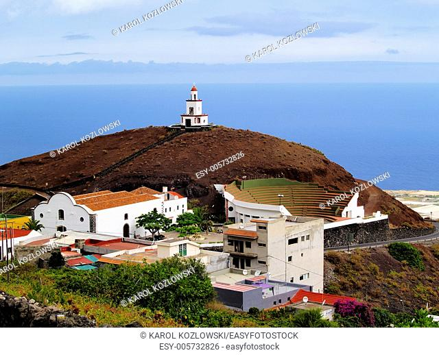 Candelaria Church in Frontera Region on Hierro, Canary Islands, Spain