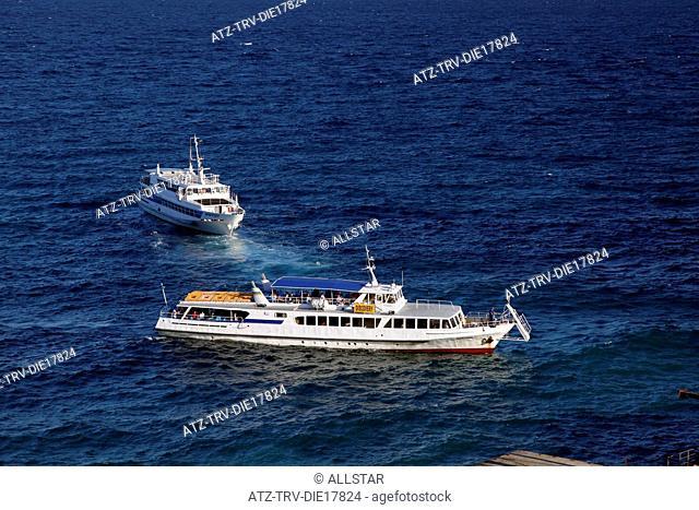 TOURIST SHIP & BOAT; CAPE AI-TODOR, CRIMEA, UKRAINE; 27/09/2011