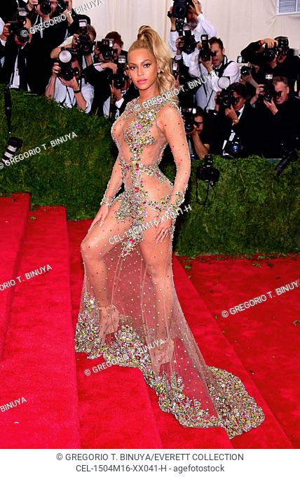 Beyonce (wearing custom Givenchy Haute Couture) at arrivals for 'CHINA:Through The Looking Glass' Opening Night Met Gala - Part 6