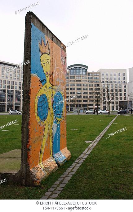 Line of the Berlin Wall in Berlin