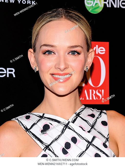 InStyle 20th Anniversary Party held at Diamond Horseshoe - Arrivals Featuring: Jess Weixler Where: New York, New York, United States When: 08 Sep 2014 Credit: C