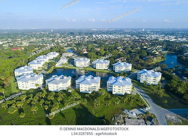 Resort style condominium complex located in Bradenton Florida