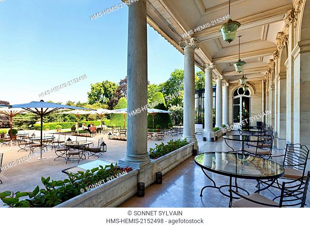 France, Marne, Reims, Chateau les Crayeres Restaurant
