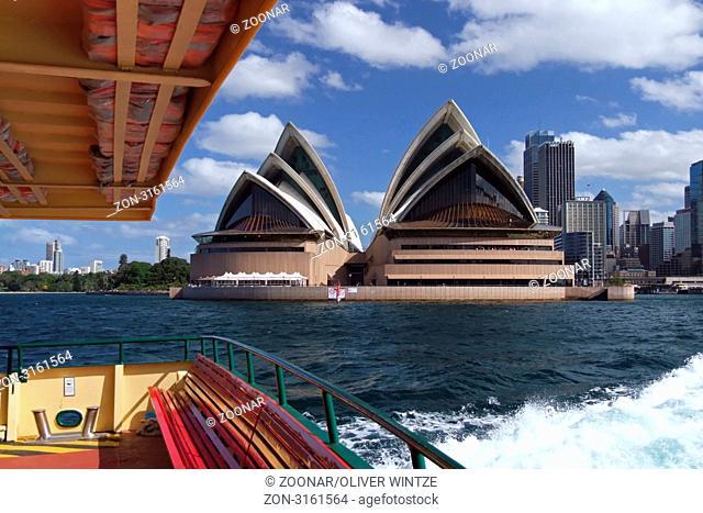 Das Opernhaus von Sydney Australien / The Sydney Opera House Australia