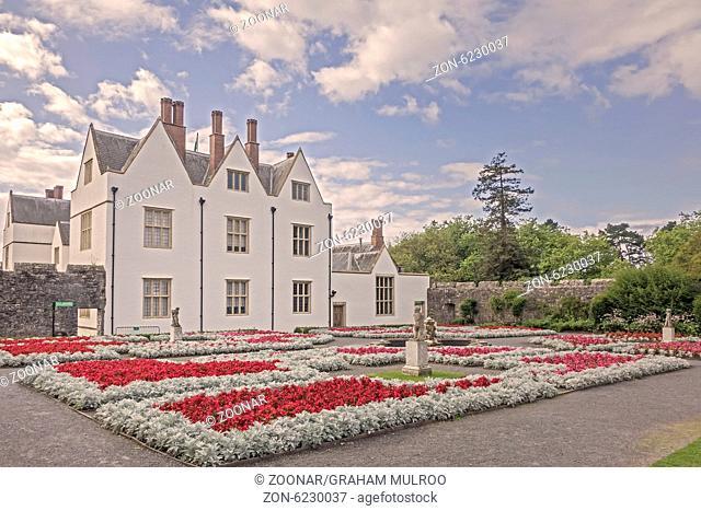 St. Fagan's Castle Cardiff Glamorgan UK