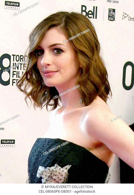 Anne Hathaway at arrivals for SAT - Rachel Getting Married Gala Premiere, Roy Thomson Hall, Toronto, ON, September 06, 2008