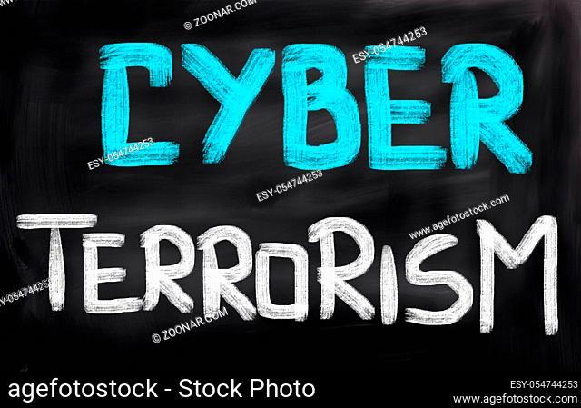 Cyber Terrorism Concept