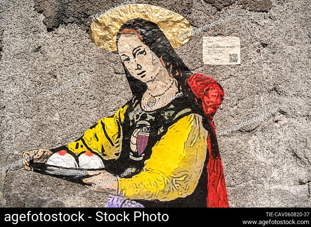 The work Sant'Agata by TVBOY is a work of profound territorial significance. The Saint, depicted while holding breasts, is also the protector of women who are...