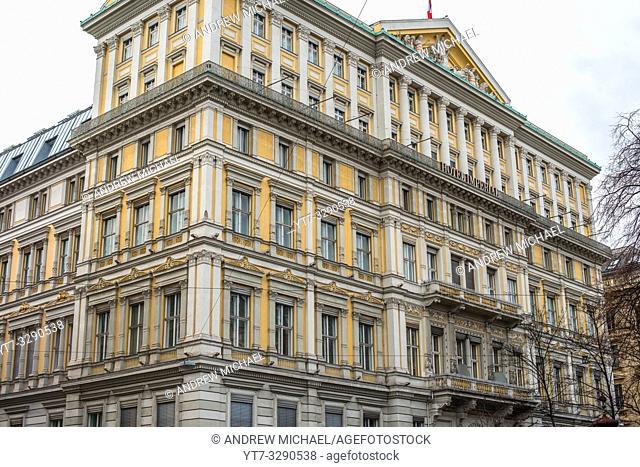 Imperial Hotel , Innere Stadt, Vienna, Austria