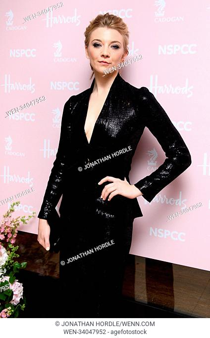 fashion retold pop up store in aid of the Nspcc Featuring: natalie dormer Where: London, United Kingdom When: 12 Apr 2018 Credit: Jonathan Hordle/WENN