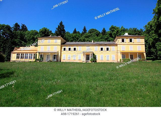 Zamek Lazen at Chudenice, Klatovy District, Plzen Region, Bohemia, Czech Republic, Europe