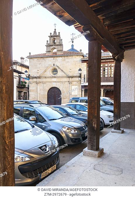 Ermita de San Pedro Bautista. San Esteban del Valle. Barranco de las cinco villas. Valle del Tiétar. Provincia de Ávila, Castile-Leon, Spain
